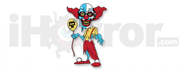 iHorror Logo With Clown