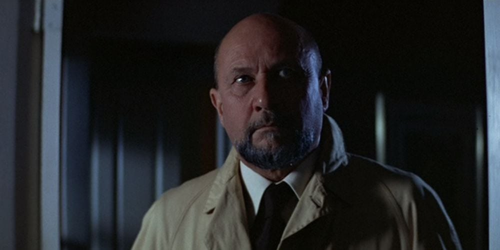 Donald Pleasance as Dr. Loomis in Halloween