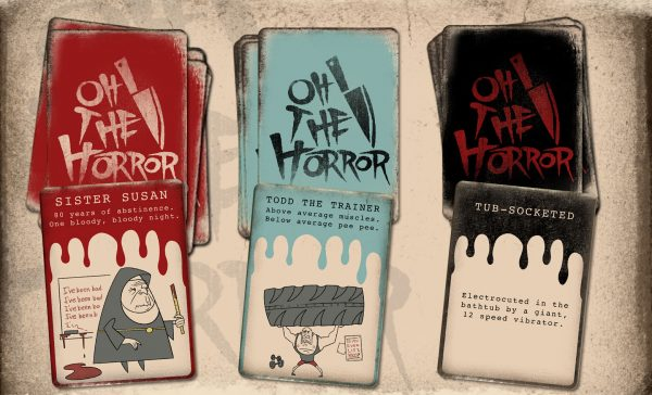 OH the Horror card game